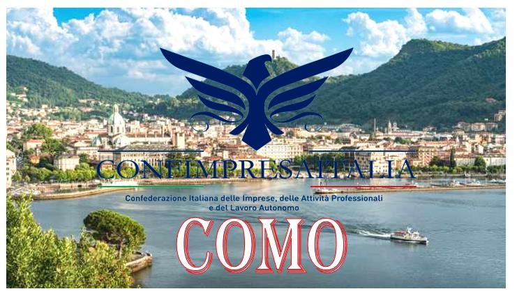 Confimpresaitalia si affaccia sul Lago di Como.