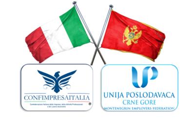 Alleanza strategica per i Balcani: Confimpresaitalia – Montenegrin Employers Federation.
