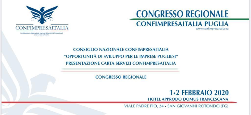 Congresso Regionale Confimpresaitalia Puglia
