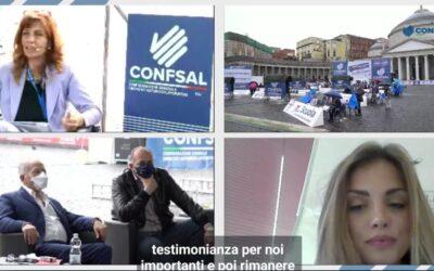 Intervento della Dott.ssa Manganiello all'evento Confsal – 1 Maggio 2021