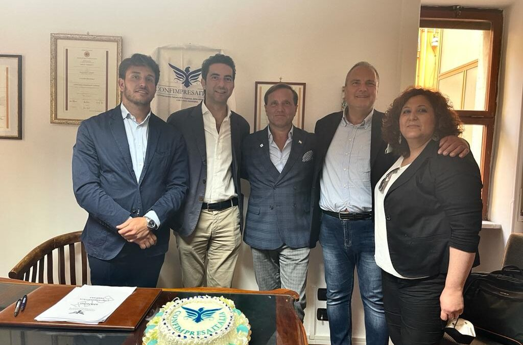 Nuova sede per Confimpresaitalia nella Città di Salerno.